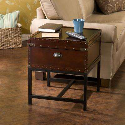 Voyager Espresso Trunk End Table