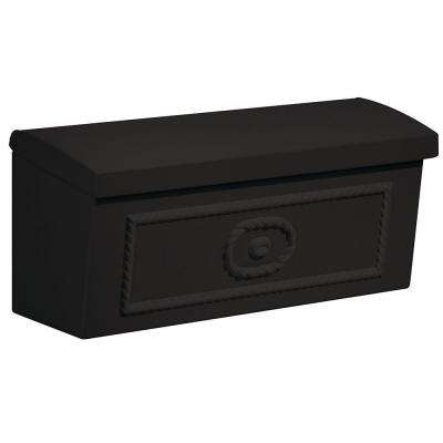 4500 Series Black Surface-Mounted Townhouse Mailbox