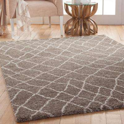Granada Terzo Medium Brown 7 ft. 10 in. x 11 ft. 2 in. Area Rug
