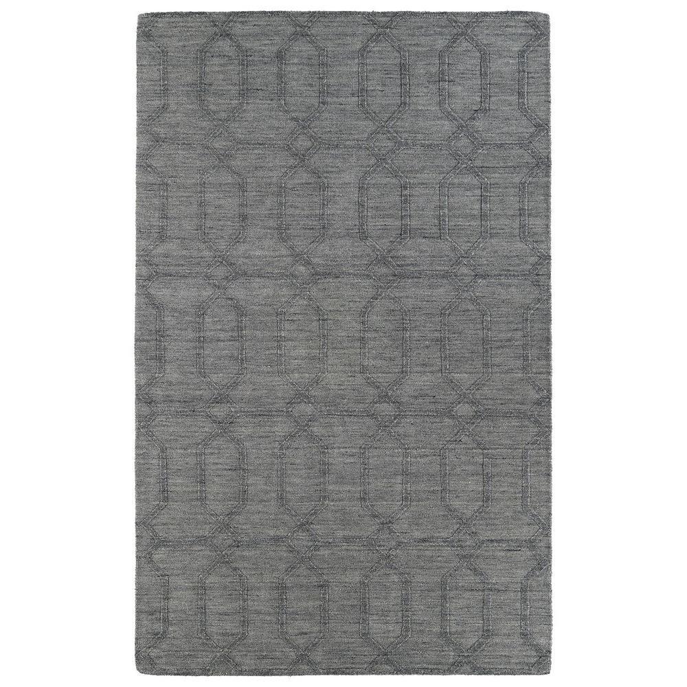 Imprints Modern Grey 8 ft. x 11 ft. Area Rug