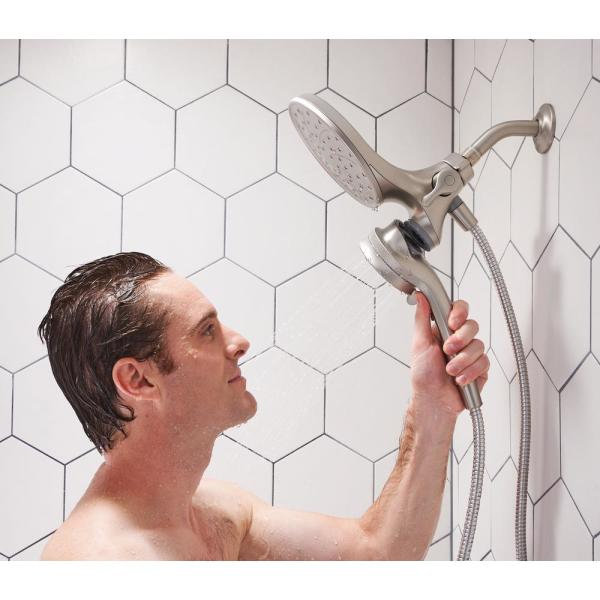 MOEN Attract with Magnetix 6 spray 6.75 in. Dual Shower Head and
