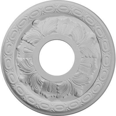 11-3/8 in. Leaf Ceiling Medallion
