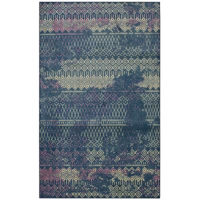 Mohawk Home Prale Purple 5 ft. x 8 ft. Moroccan Area Rug