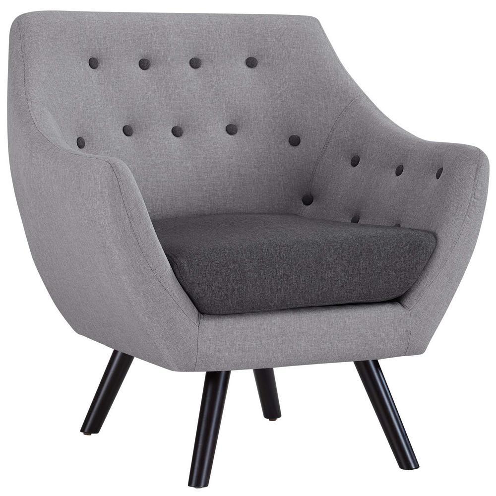 Allegory Light Gray Armchair