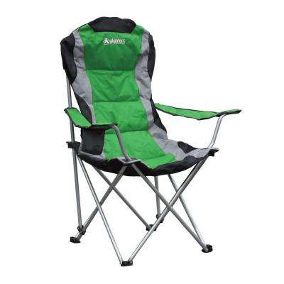 Padded Camping Chair in Green
