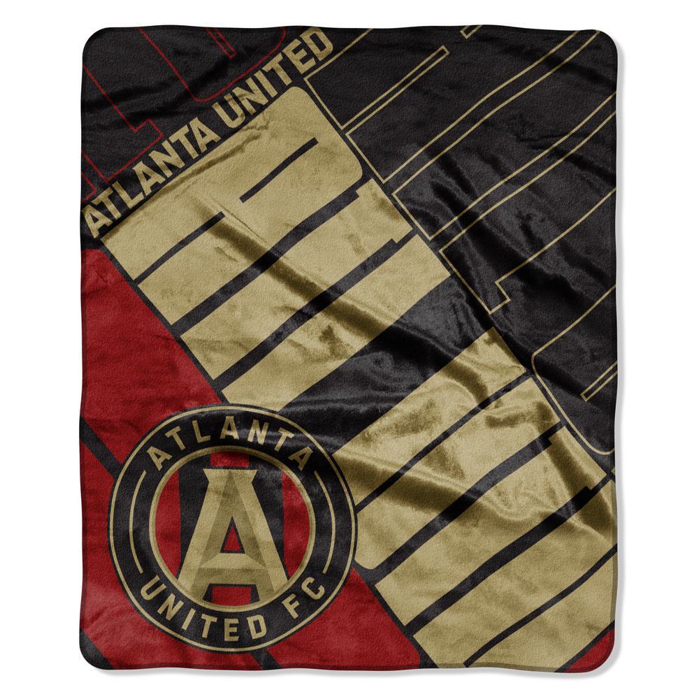 Atlanta United Scramble Raschel Throw