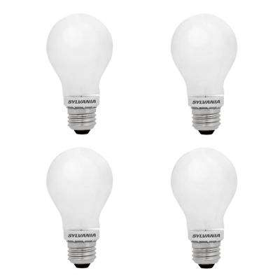 100-Watt Equivalent A21 Dimmable Double Life Household LED Light Bulb Warm White (4-Pack)