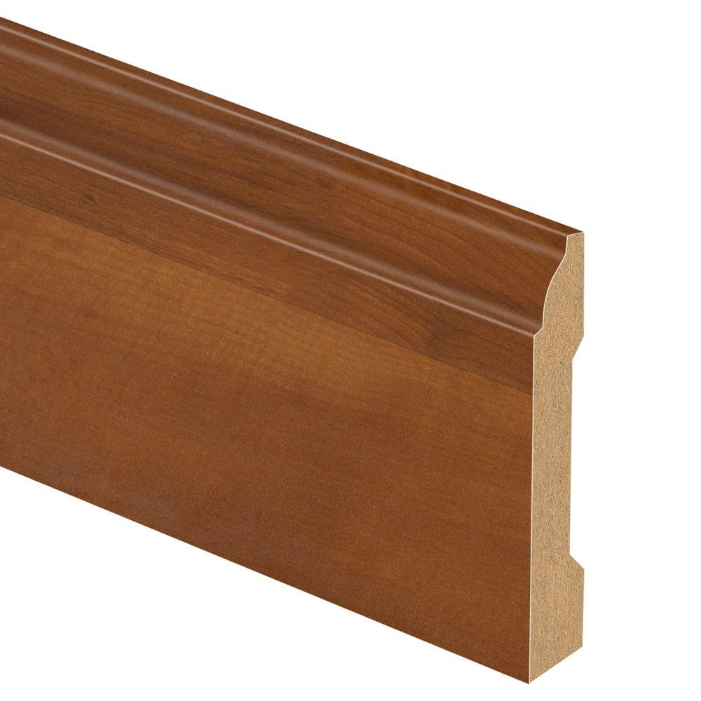 Zamma Penn Traditions Sycamore 9/16 in. Thick x 3-1/4 in. Wide x 94 in. Length Laminate Wall Base Molding