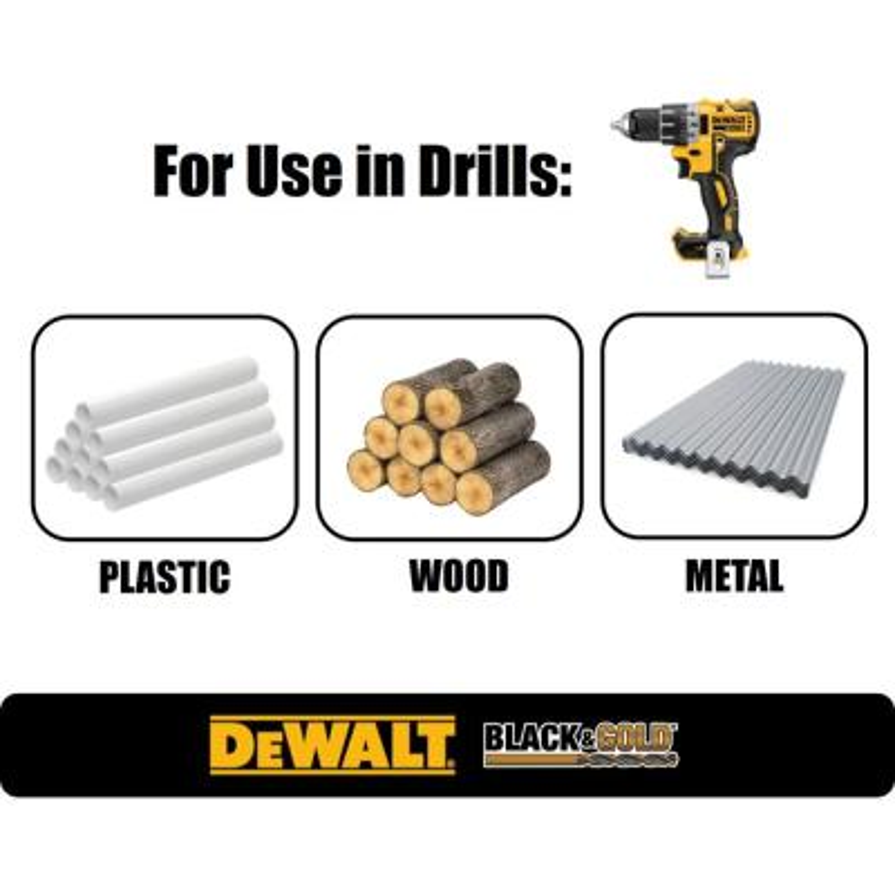 Black and Gold Drill Bit Set (29-Piece)