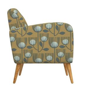 Phenomenal Handy Living Kingston Gold Modern Tulip Print Mid Century Gmtry Best Dining Table And Chair Ideas Images Gmtryco