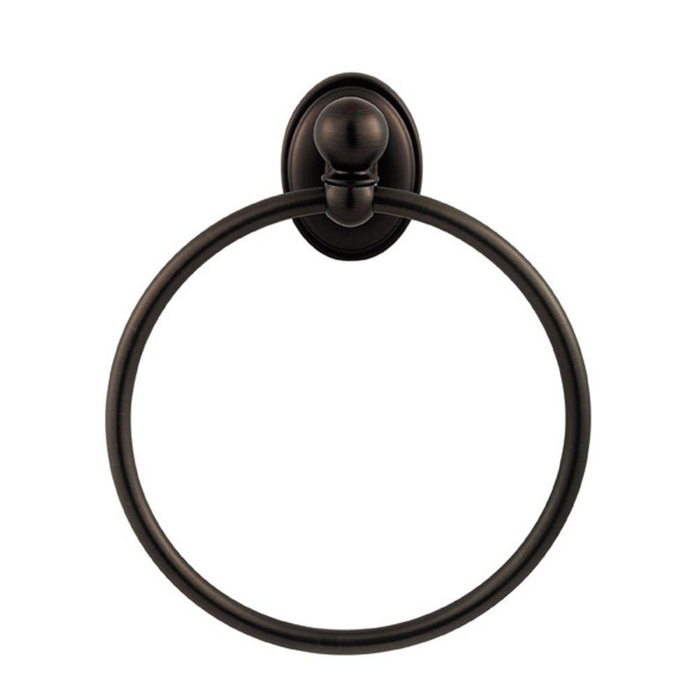 Champlain Towel Ring in Venetian Bronze