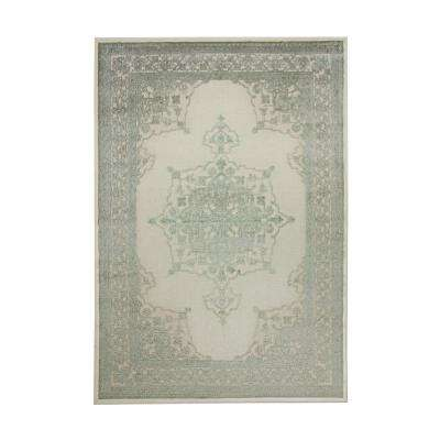 Napa Ashton Green/Ivory 8 ft. x 11 ft. Area Rug