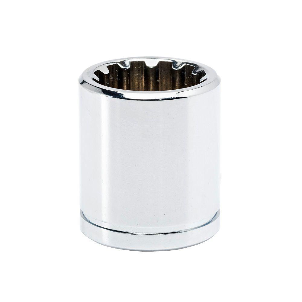 Husky 3/8 in. Drive 14 mm Standard Universal Socket