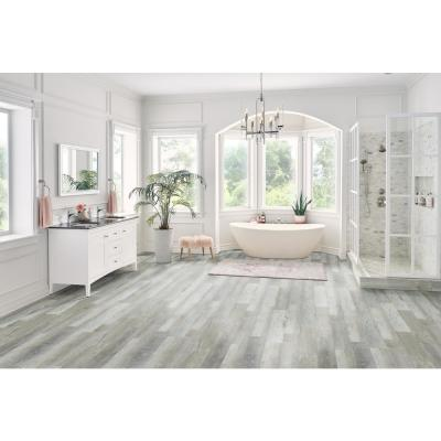 Winding Brook 5.98 in. x 36.02 in. Rigid Core Luxury Vinyl Plank Flooring (23.95 sq. ft. / case)