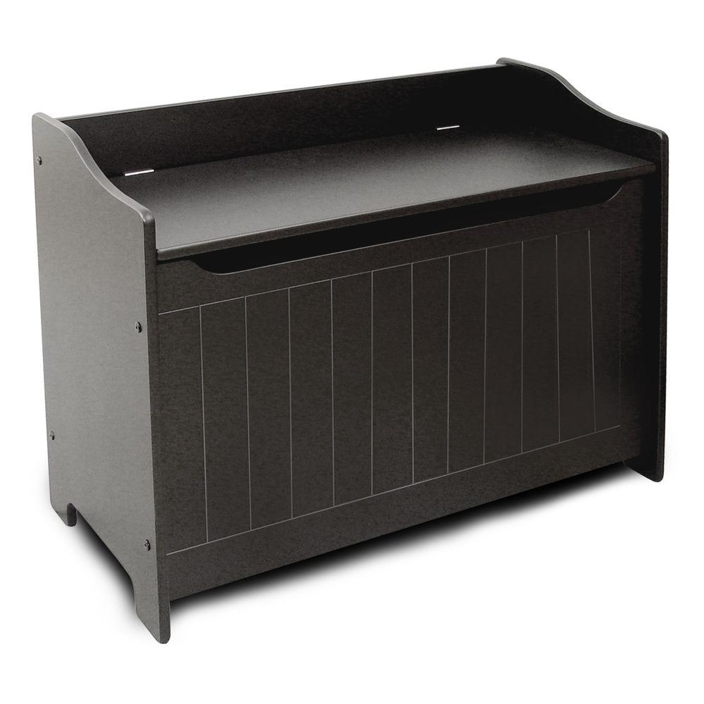 Catskill Craftsmen Black Storage Bench  sc 1 st  Home Depot & Catskill Craftsmen Black Storage Bench-89096 - The Home Depot