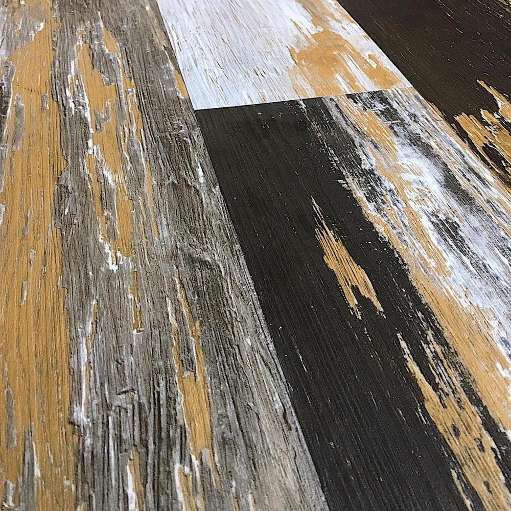 Deco Products COLORS Floor and Wall DIY Old Desert Bronze 6 in. x 36 in. Multi-Tonal Glue Down Luxury Vinyl Plank (30 sq. ft. / case)
