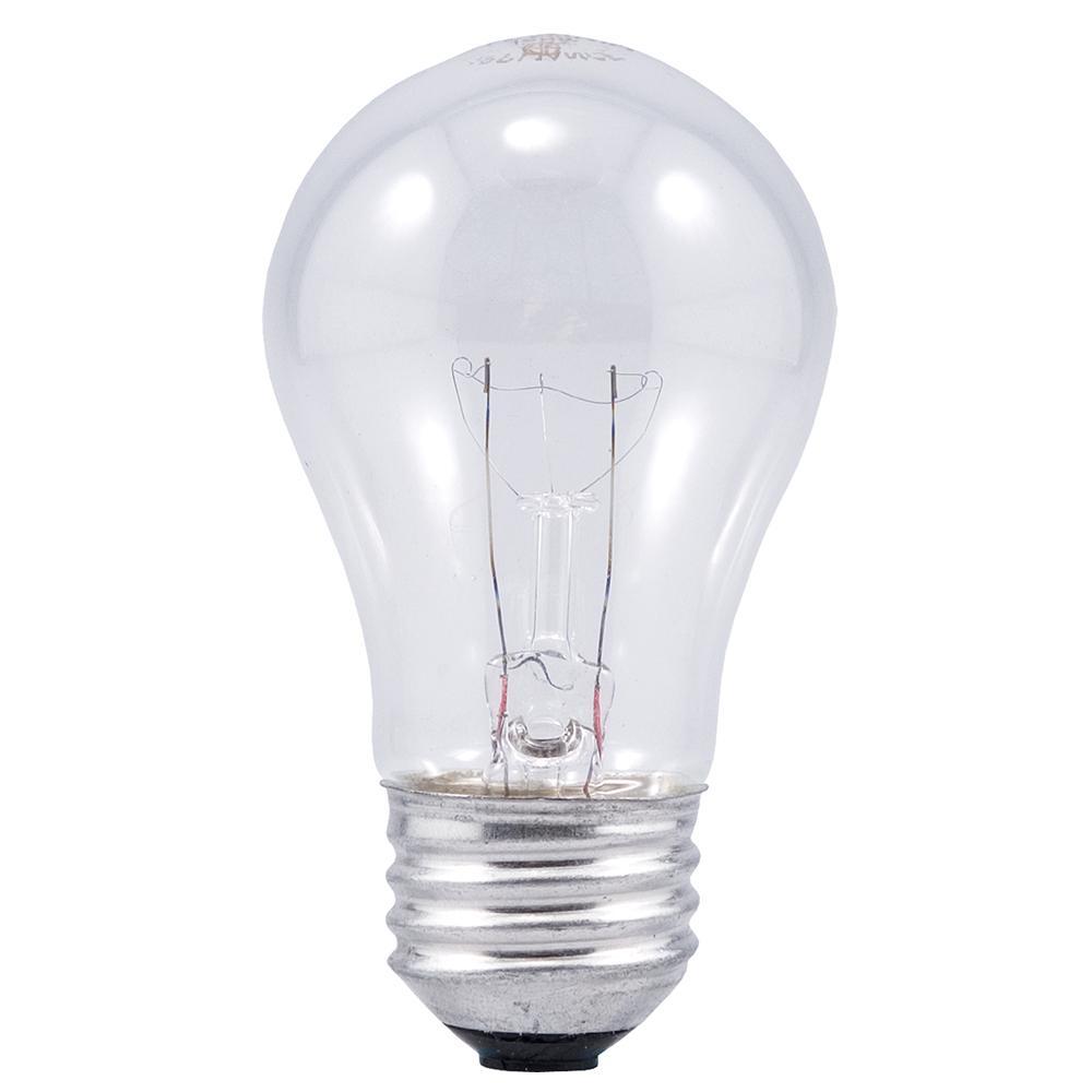 sylvania 60 watt a15 incandescent light bulb 2 pack. Black Bedroom Furniture Sets. Home Design Ideas