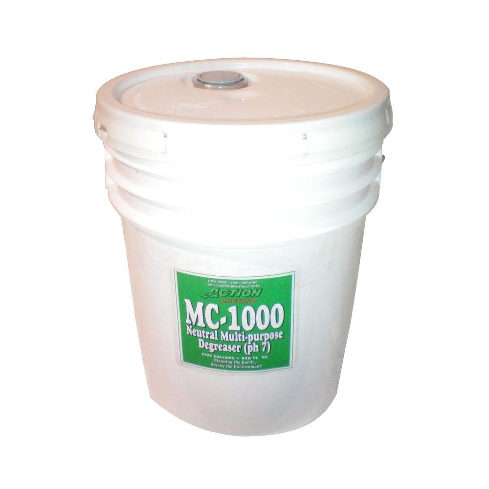 5 Gal. Pail Organic Neutral All-Purpose Cleaner and Degreaser (at 50%