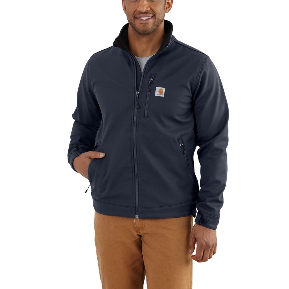 4eae0c0843eea Carhartt Men'S Large Navy Nylon/Spandex/Polyester Crowley Jacket ...