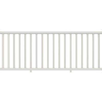 8 ft. x 36 in. Select White Rail Kit with Square Balusters