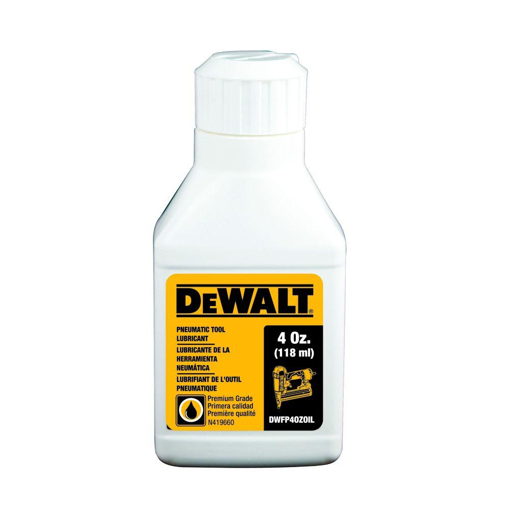 Dewalt 4 Oz Pneumatic Tool Lubricant Oil Dwfp4ozoil The