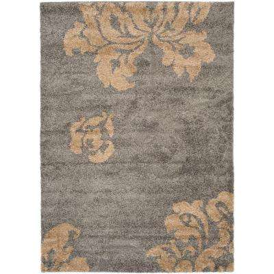 Florida Gray Beige 8 Ft X 10 Area Rug