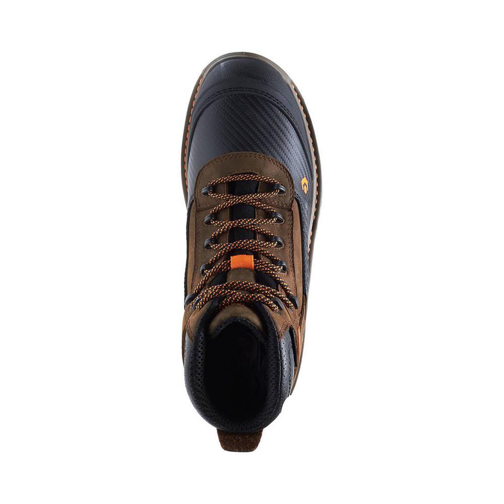 d46a217b475 Wolverine Men's Overpass 12EW Brown Leather Waterproof Composite Toe 6