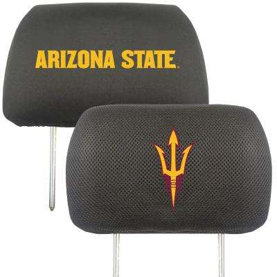 NCAA Arizona State University Embroidered Head Rest Covers (2-Pack)