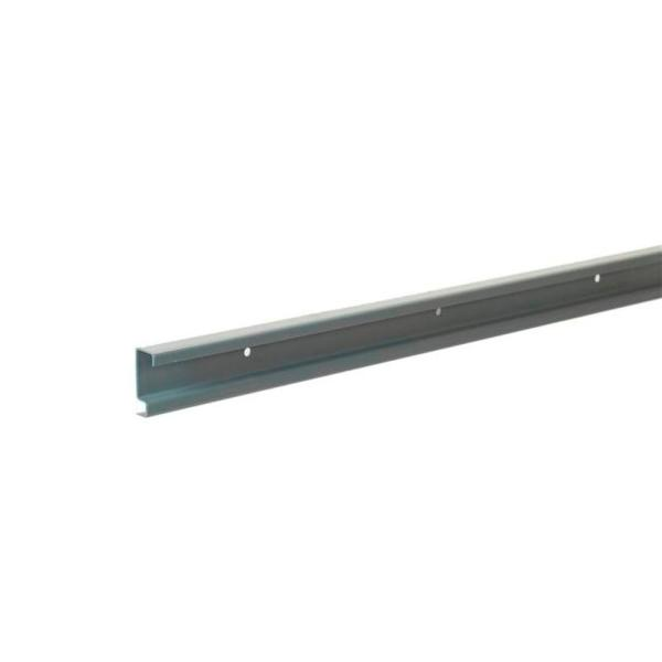 Maximum Load 40 in. Silver Hang Track