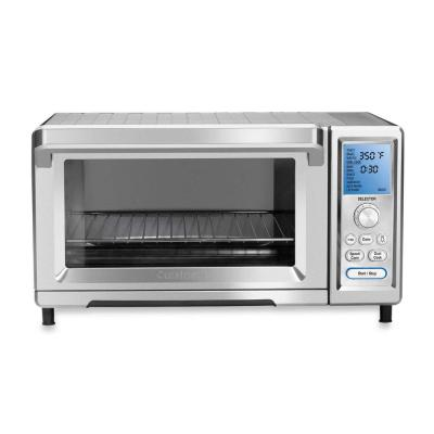 1800 W 9-Slice Stainless Steel Toaster Oven with Temperature Control