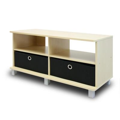 Home Living Steam Beech Entertainment Center