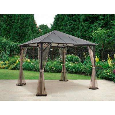 Steel Gazebos Sheds Garages Outdoor Storage The Home Depot