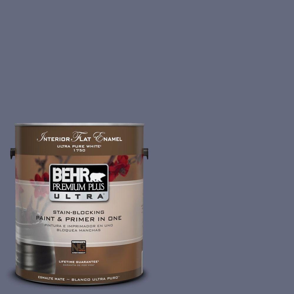 BEHR Premium Plus Ultra 1-Gal. #UL240-2 Nostalgic Interior Flat Enamel Paint
