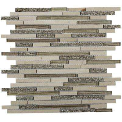 Paradise Olympus Glass Wall Tile - 3 in. x 6 in. Tile Sample