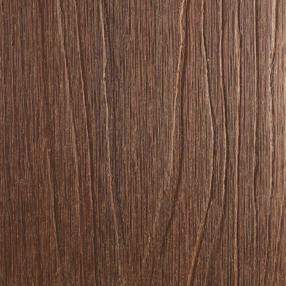 NewTechWood UltraShield Naturale Cortes Series 1 in. x 6 in. x 1 ft. Brazilian Ipe Solid Composite Decking Board Sample