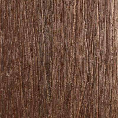 UltraShield Naturale Cortes Series 1 in. x 6 in. x 1 ft. Brazilian Ipe Solid Composite Decking Board Sample