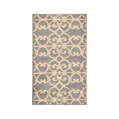 Gabe Grey/Berber 2 ft. x 3 ft. Loop Area Rug