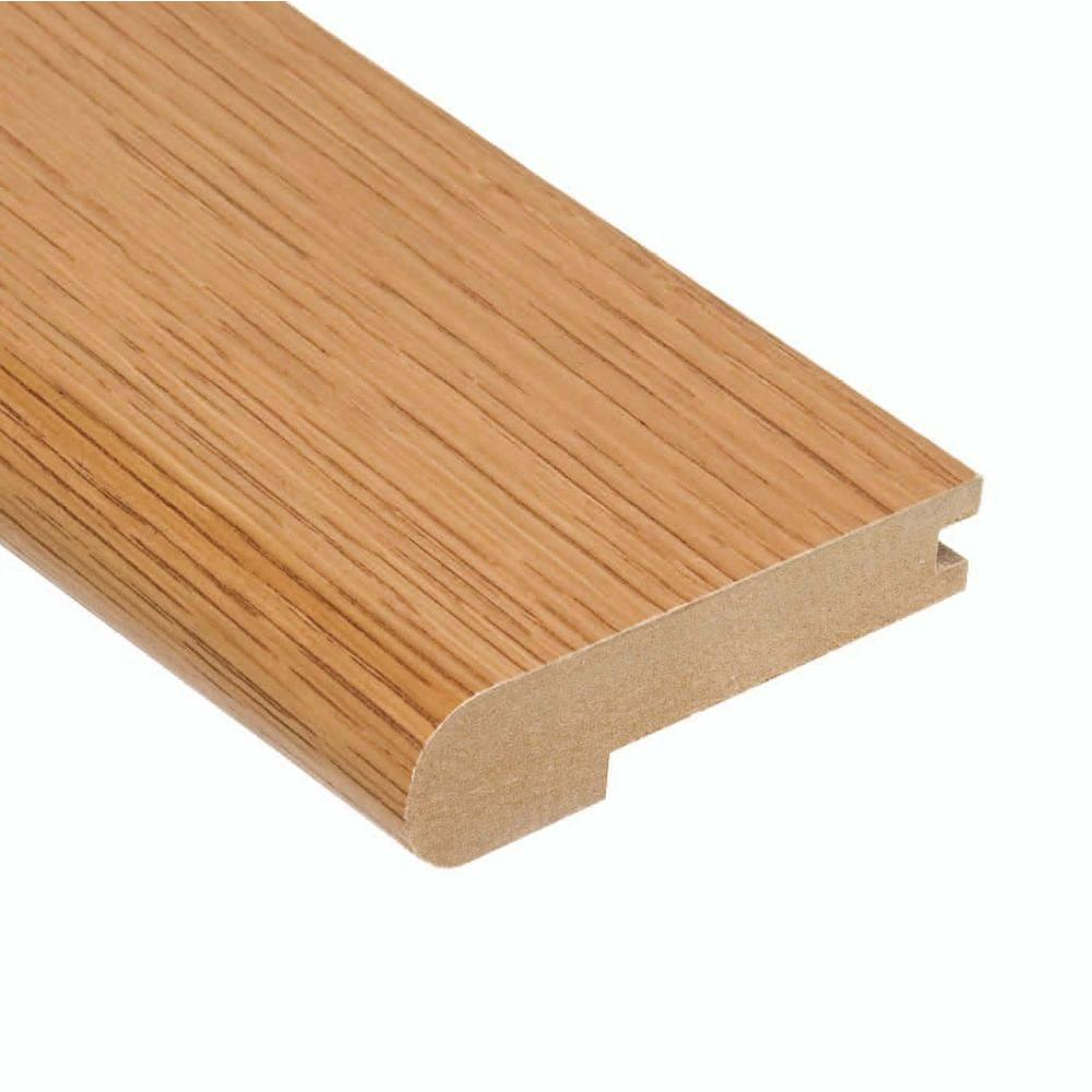 Home Legend Oak Summer 3/8 in. Thick x 3-1/2 in. Wide x 78 in. Length Hardwood Stair Nose Molding