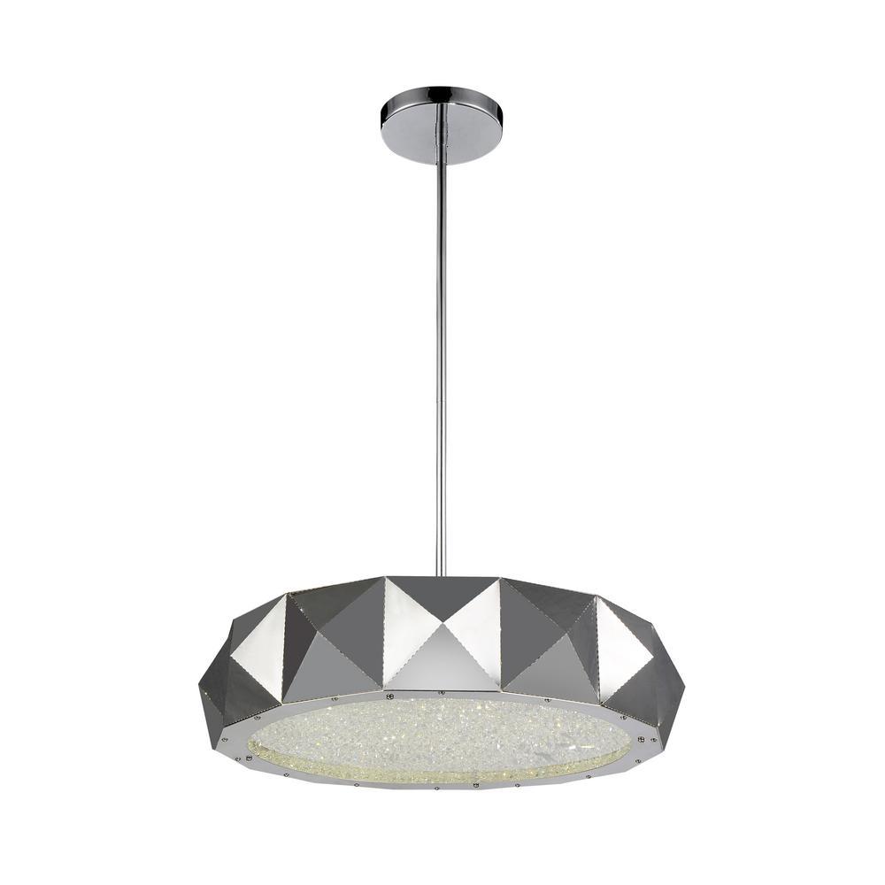 Rigelle 8-light chrome chandelier