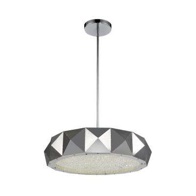 Rigelle 8-light chrome chandelier