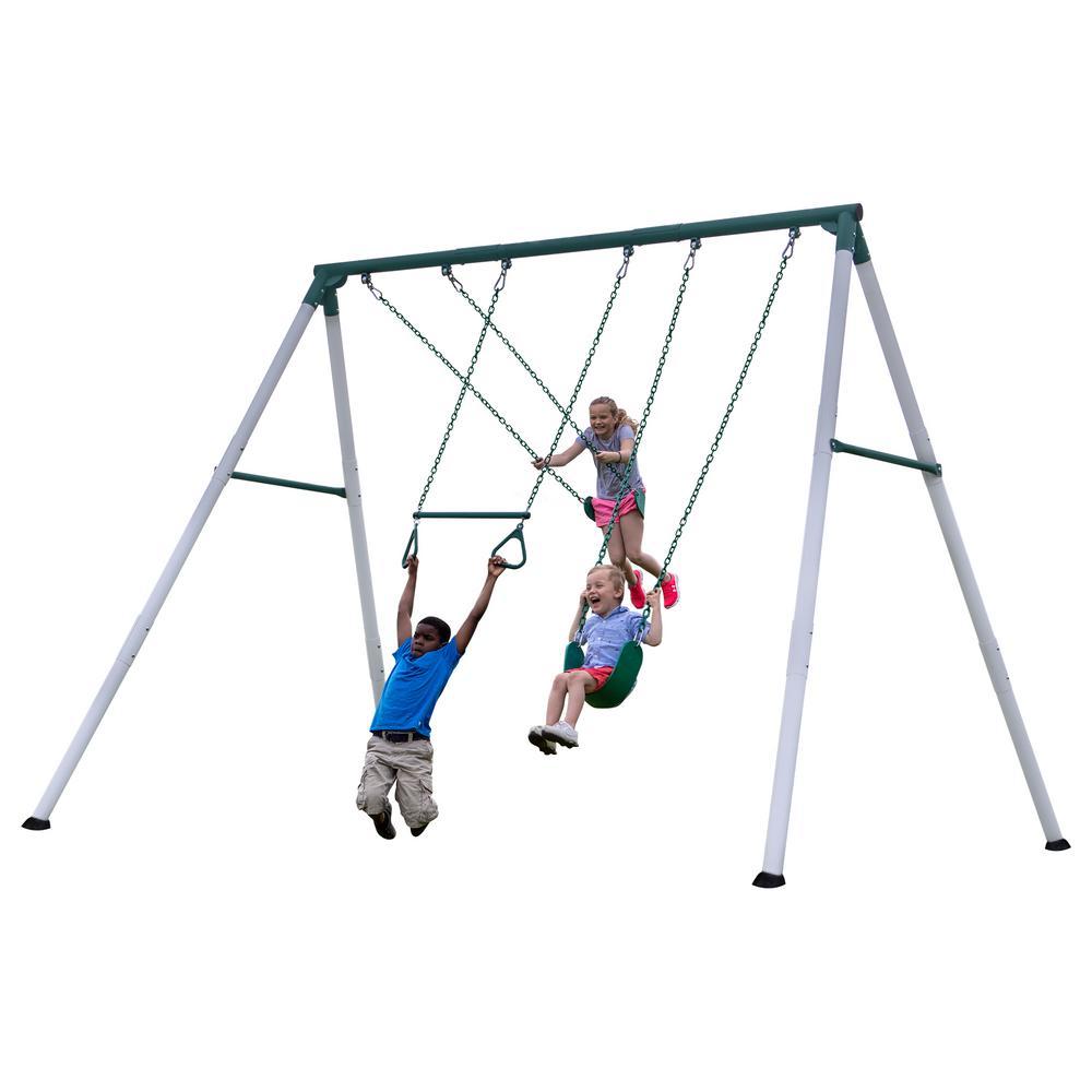 Backyard Discovery Big Brutus Metal Swing Set