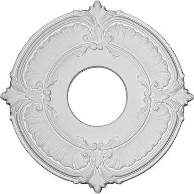 1/2 in. x 12-3/4 in. x 12-3/4 in. Polyurethane Attica Ceiling Medallion Moulding