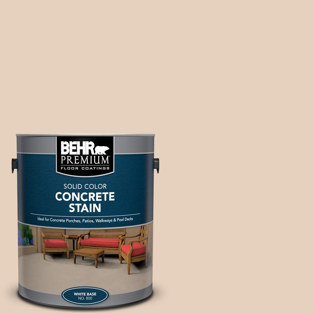 1 gal. #PFC-11 Inviting Veranda Solid Color Flat Interior/Exterior Concrete