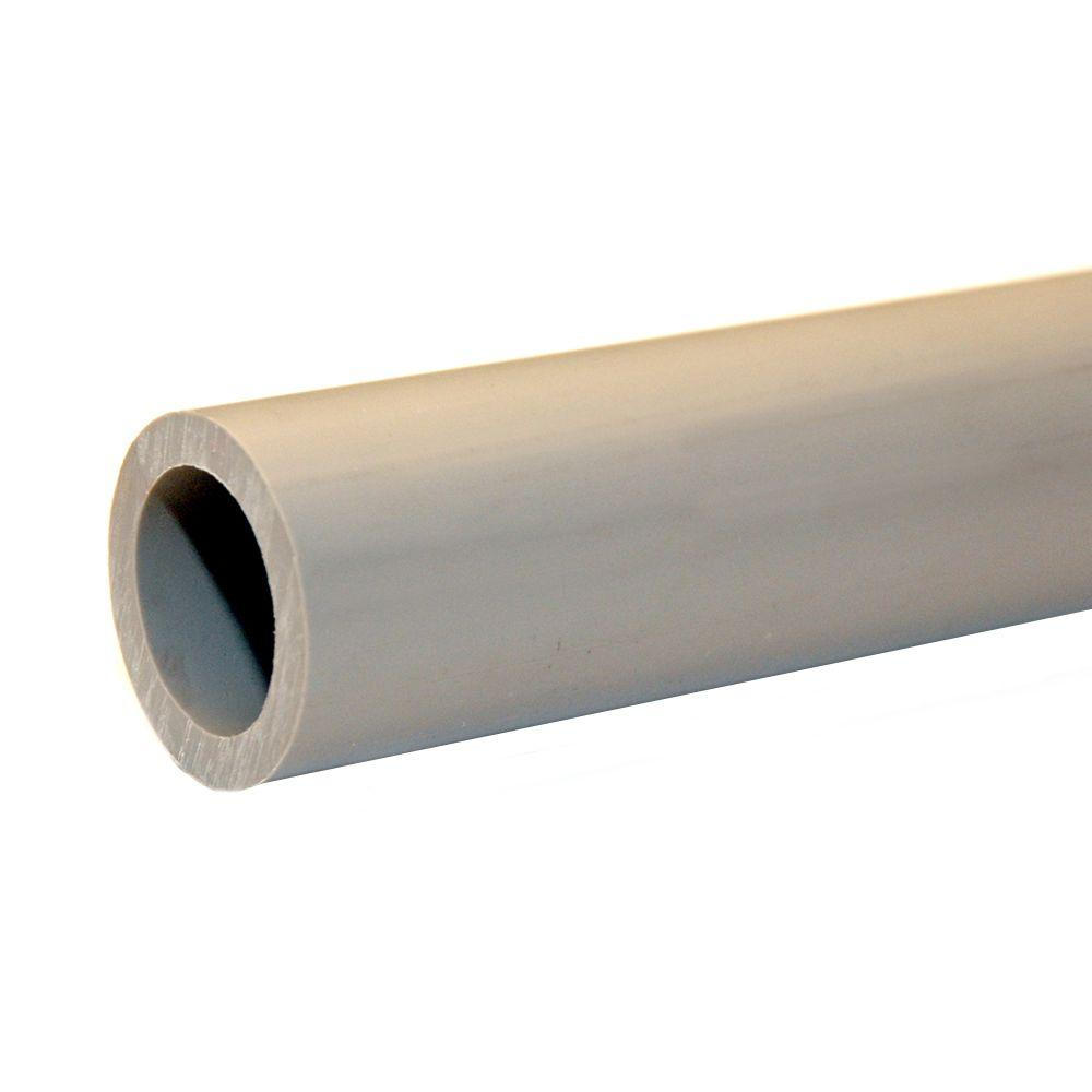 1/2 in. x 20 ft. PVC Sch. 80 Pipe Plain End