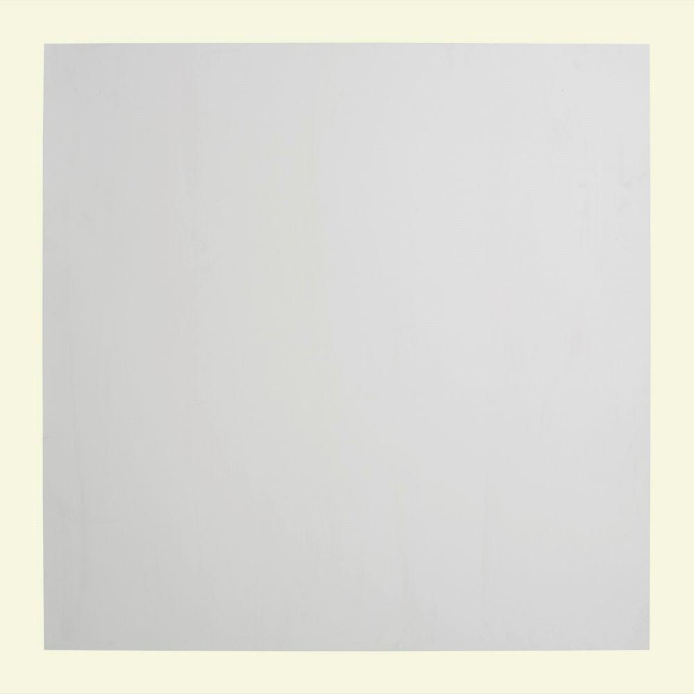 Fasade Flat Panel - 2 ft. x 2 ft. Vinyl Lay-In Ceiling Tile in Gloss ...