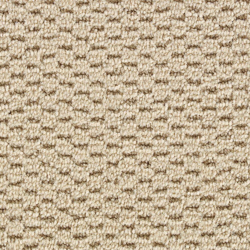 Martha Stewart Living Sandringham Hickory - 6 in. x 9 in. Take Home Carpet Sample