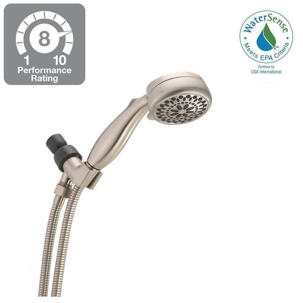 Delta 7-Spray Handheld Hand Shower in Brushed Nickel