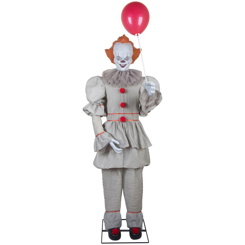 Warner Warner 72 in. Animated Pennywise