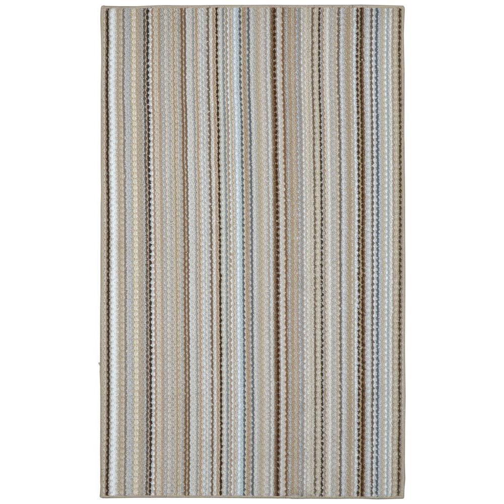Garland Rug Carnival Stripe Random Multi 6 Ft X 9 Area Cv000a07210859 The Home Depot