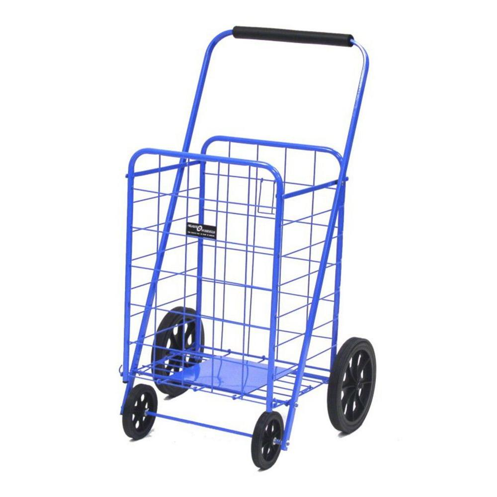 5363c1ca05d0 Easy Wheels Metal Super Shopping Cart